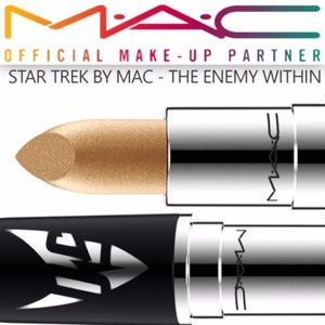 New LIMITED EDITION MAC Star Trek Lipstick Enemy..